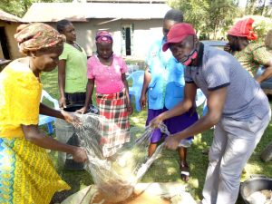 Working with women in the villages to transfer knowledge on safe energy use